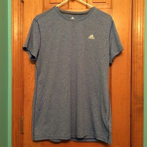 Adidas XL Women's blue shirt. Climalite